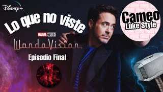 WANDAVISION Episodio 9 | Lo que no viste Referencias | Easter Eggs por Tony Stark