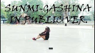 Video Sunmi - Gashina Dance Cover in Public Ver. download MP3, 3GP, MP4, WEBM, AVI, FLV April 2018