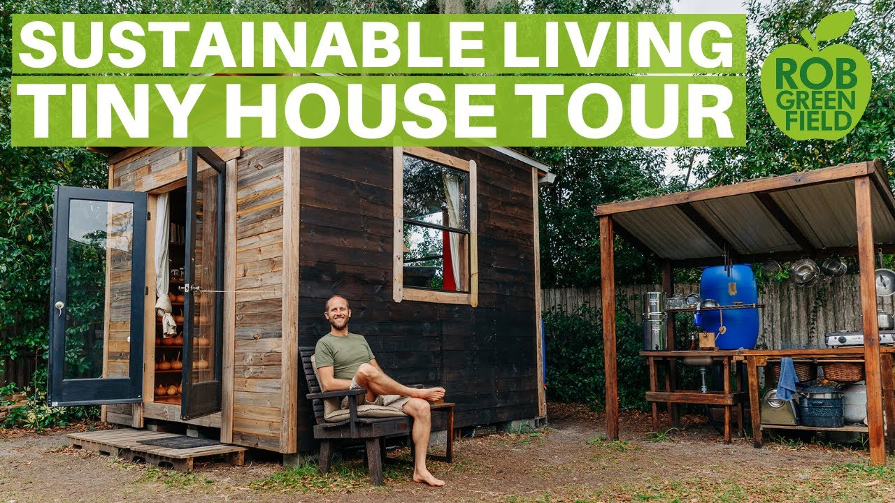 Simple And Sustainable Living In My 100 Square Foot Tiny