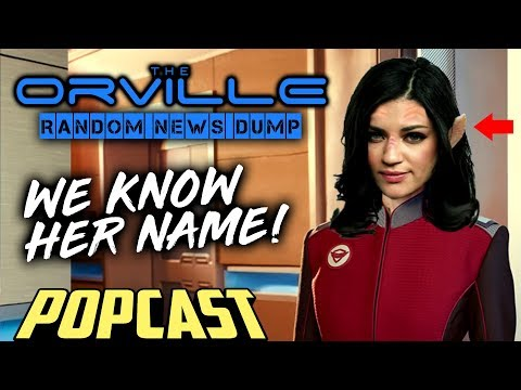 The Orville   Who is Jessica Szohr & where is Alara?