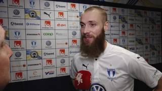 Jo Inge Berget efter Malmö FF–Djurgården