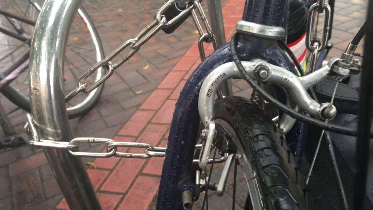 Cheap Courier Bike - YouTube
