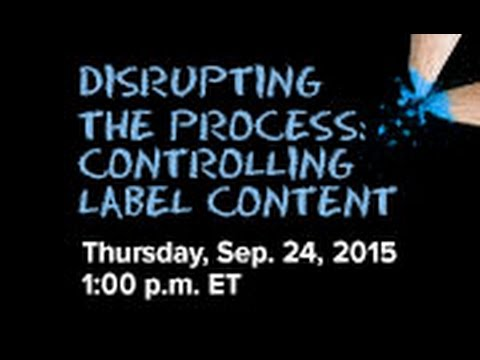 Live Session - Jackie Leslie: Disrupting the Process: Controlling Label Content