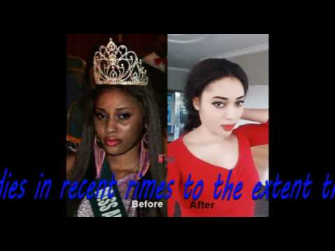 Before & After Bleaching Photos of Ex Miss Commonwealth Nigeria Will Shock You