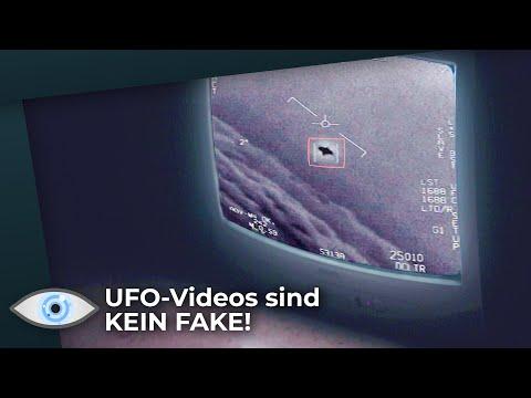 ''UFO-Videos zeigen echte Flugobjekte!'' sagt Pentagon