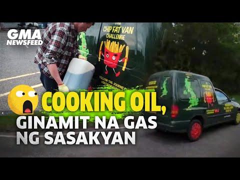 Cooking oil, ginamit na gas ng sasakyan   GMA News Feed