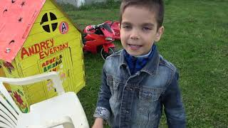 Andrew pretend play police Collection new series for kids about police cars