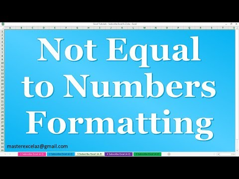 how-to-use-conditional-formatting-for-not-equal-to-numbers-in-ms-excel-2016