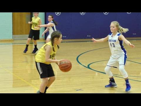 Argos at Triton - 6th Grade Girls Basketball A-game 🏀 2-13-2017