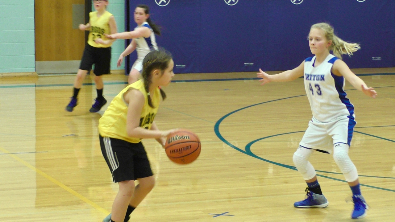 Argos at Triton - 6th Grade Girls Basketball A-game ???? 2-13-2017