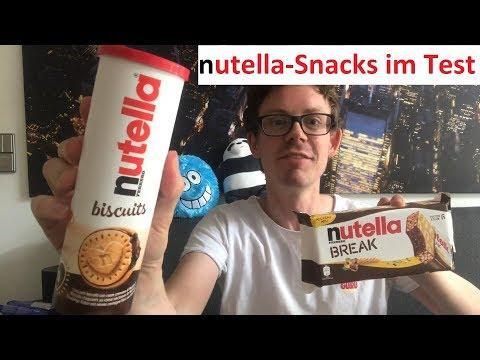 Nutella Break,  Biscuits & B-ready im Vergleichs Test: Welcher Nutella Snack ist der Beste?