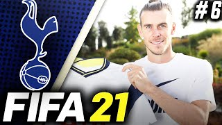 SIGNING GARETH BALE FROM  REAL MADRID!!! - FIFA 21 Tottenham Hotspur Career Mode EP6