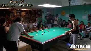 "Efren ""Bata"" Reyes Vs Jilzander ""Morong"" Aguilar (Dasmarinas Cavite) Part 4"