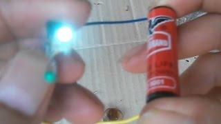 Boost-converter mit kleinen NPN-transistor und 1,5 V AA-Batterie