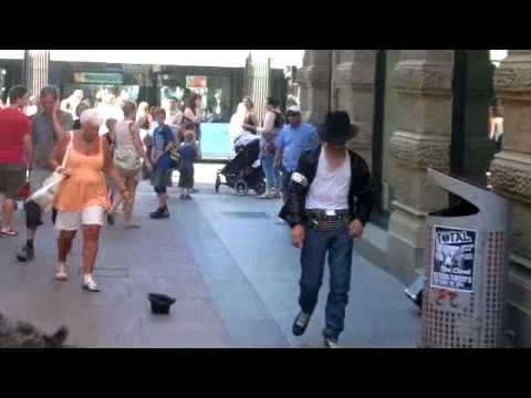 Michael Jackson Street Dancer - Billie Jean