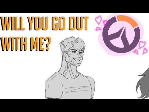 Overwatch comic dub: will you go out with me?