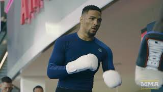 UFC 216: Kevin Lee Open Workout Highlights - MMA Fighting