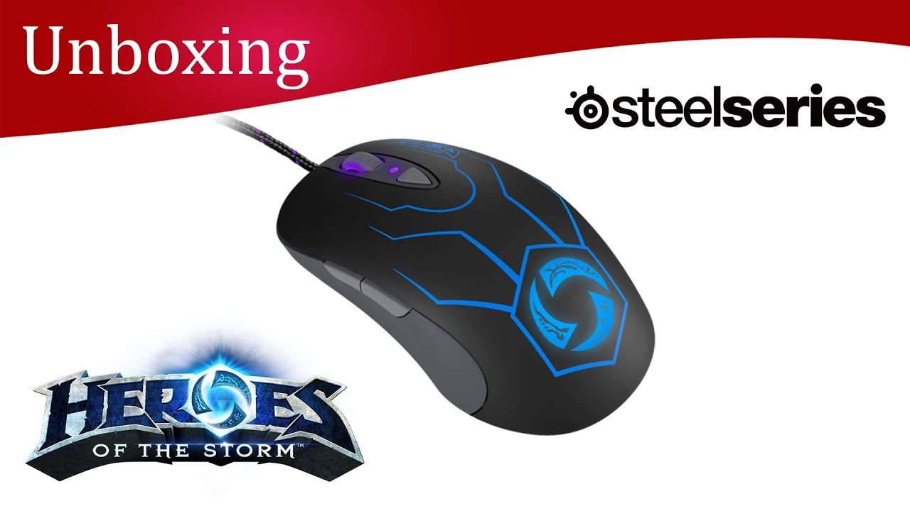 SteelSeries Heroes of the Storm Mouse Treiber Windows 10