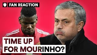 IS TIME RUNNING OUT FOR MOURINHO AT MAN UTD? | FAN REACTION