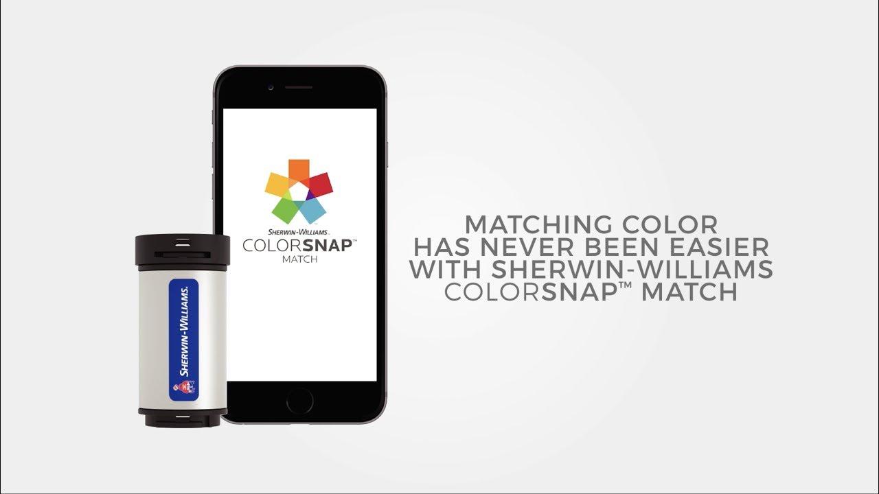 Colorsnap Match Sherwin Williams