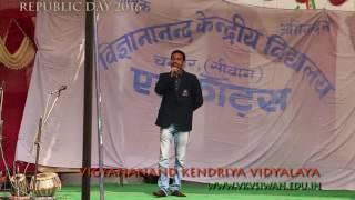 Song with original track karoeke of Sandeshe Aate Hai.. by prabhat