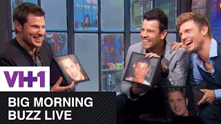 Nick Lachey, Nick Carter, & Jordan Knight Sing on Big Morning Buzz Live | VH1