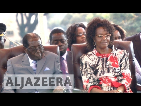 Mugabe's wife: He could run for election 'as a corpse'