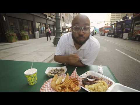 Detroit, Michigan: Cadillac Square Street Food