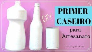 Como fazer PRIMER CASEIRO para Artesanato – Duas receitas econômicas