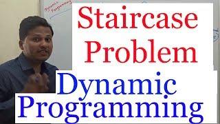 Staircase Problem (Dynamic Programming) Fibonacci Series pattern