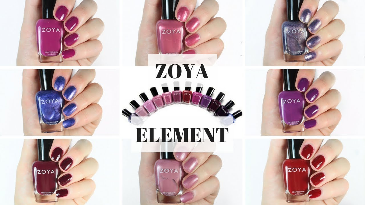 Zoya element fall collection 2018 swatch and review youtube zoya element fall collection 2018 swatch and review reheart Gallery