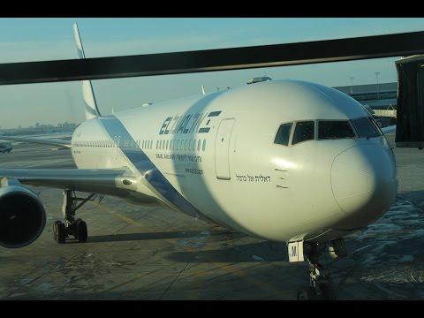 El Al 767-300er LY30 YYZ-YYZ EMERGENCY LANDING Dec 20, 2016