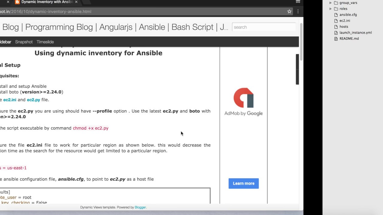 Ansible Dynamic Inventory Tutorial | How To Launch EC2 Using Ansible  Dynamic Inventory | AWS
