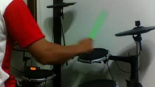3 คอร์ดซอดแจ้ง(ป่องแป่ง) - คู่แฝดโอเอ drum cover by tae