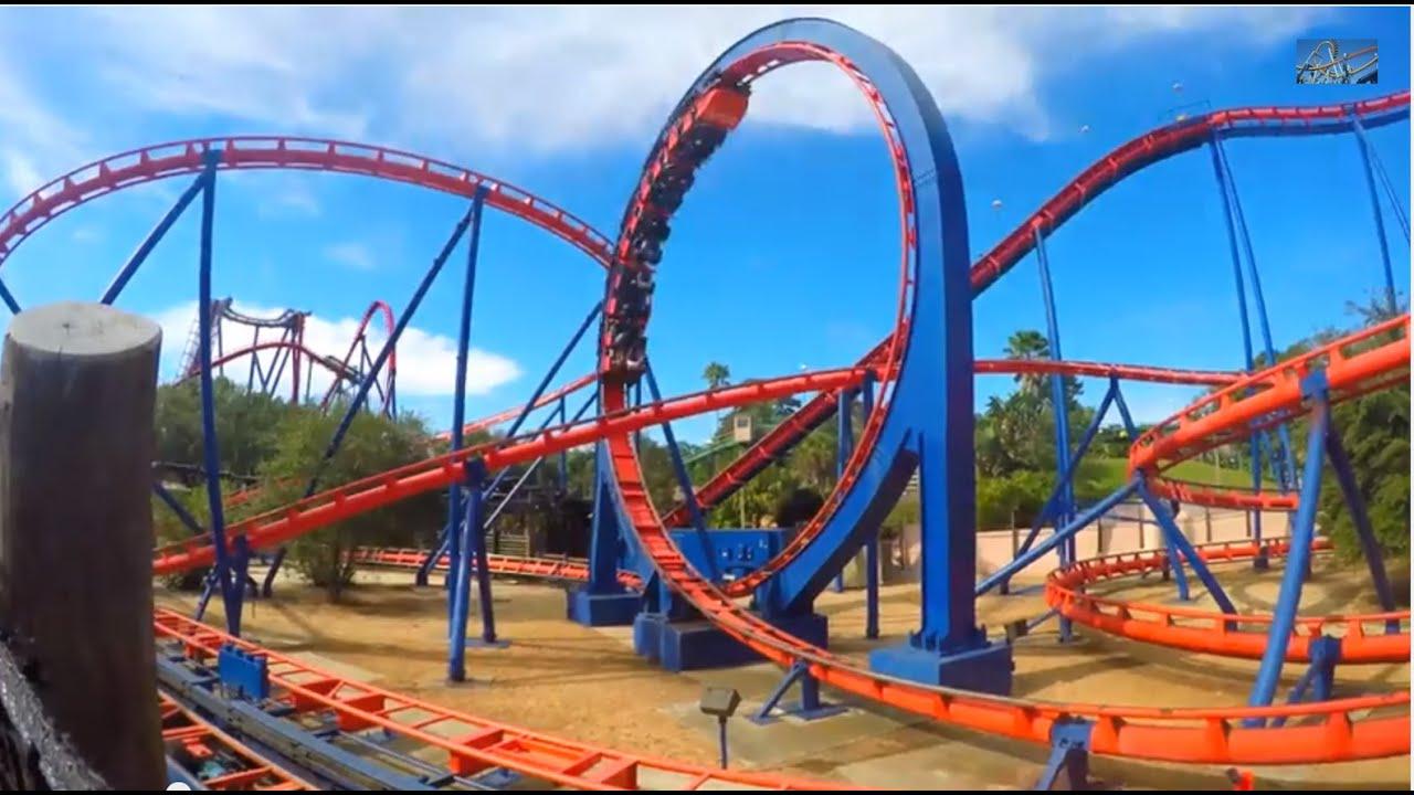Scorpion Busch Gardens Tampa Florida Youtube