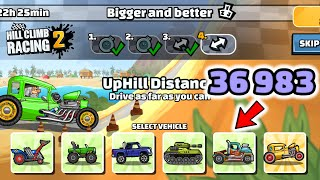 Hill Climb Racing 2 - 36983 points in BIGGER AND BETTER Team Event