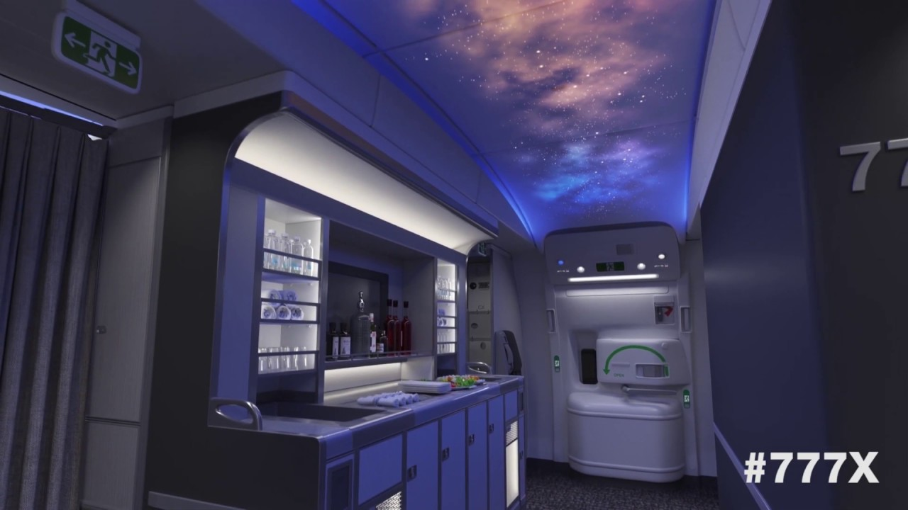Boeing Corporation unveils concept video of 777X aircraft
