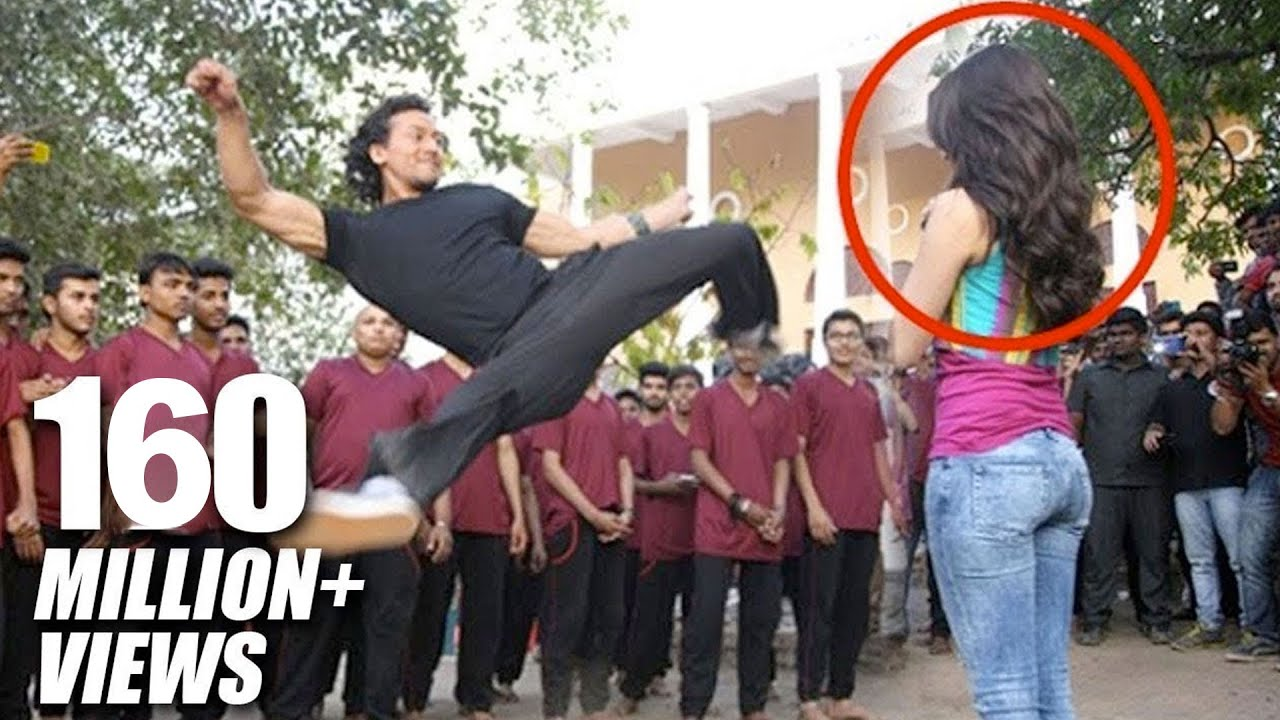 Download Tiger Shroff's Amazing Stunt With Shraddha Kapoor For Baaghi Promotions