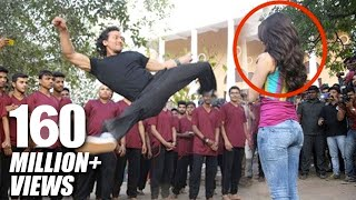 vuclip Tiger Shroff's Amazing Stunt With Shraddha Kapoor For Baaghi Promotions