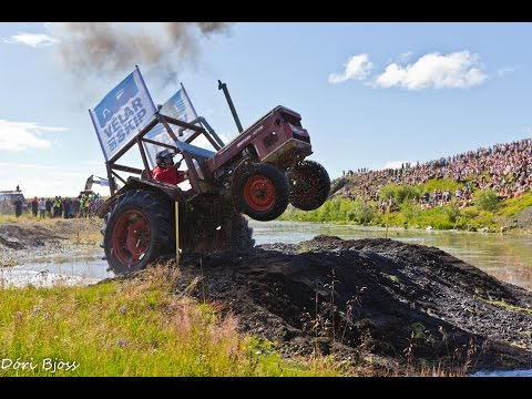 Tractor racing in Iceland 2012 part 2
