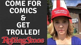JOURNALIST TRIES HIT-PIECE ON COMICS & GETS EPICLY TROLLED
