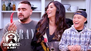 Sexy Thai Basil Beef ft. Timothy DeLaGhetto | Cooking in the Crib w/ Snooki & Joey | MTV