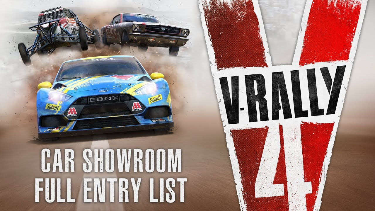 V Rally 4 Car Showroom Full Entry List Youtube