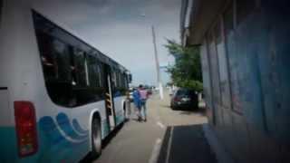 прикол над автобусом
