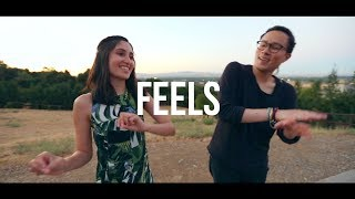"Calvin Harris ft. Pharrell Williams, Katy Perry - ""Feels"" Cover (@RosendaleSings x @SingingSachi)"