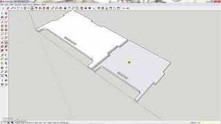 Making a box with a laser-cutter - Step 2B 3D Design with SketchUp - Making the side of the box