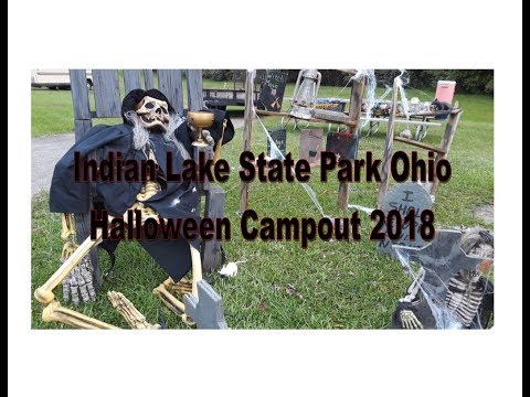 Indian Lake State Park Halloween Campout 2020 Indian Lake State Park Campground in Ohio Halloween Campout 2018