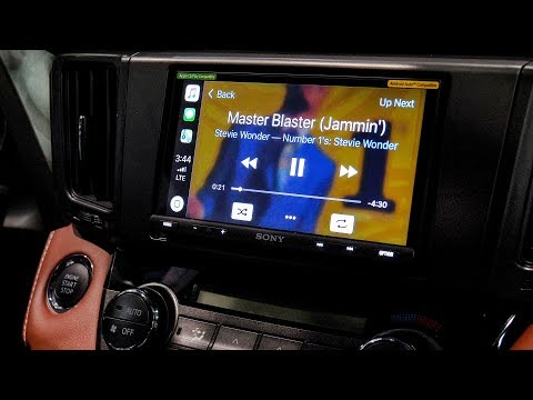 Sony XAV-AX200 vs XAV-AX5000 - Dual USB, TomTom Nav, 4V Pre-Outs, Apple Carplay and Addroid Auto