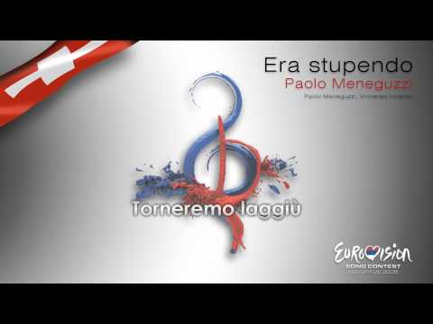 "Paulo Meneguzzi - ""Era Stupendo"" (Switzerland) - [Karaoke version]"