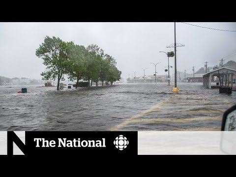 Nova Scotia town sinking as sea levels rising